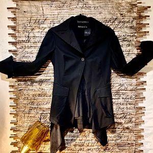 Designer two piece blazer